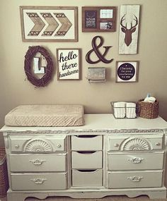 The most adorable rustic inspired nursery