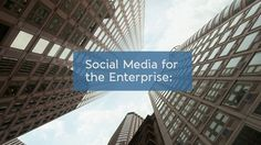 Social Media for The Enterprise: A Business Case by HootSuite. How is social media truly impacting businesses today? Why are many of the world's top brands—like Pepsi, Virgin, NHL, and American Express—now embracing social media company-wide? Can social media really benefit B2B marketing?