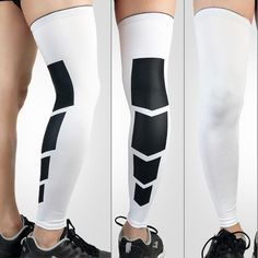 Cycling Compression Sports Safety Leg Warmers Football Basketball Base Layer Leg Sleeve Shin Guard Running Sports Calf Support Aesthetic Appearance Cycling Legwarmers