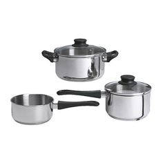 Even though most of your meals may come from the dining hall, investing in a simple cookware set like the $9.99 ANNONS 5-piece set is a great idea for off-campus housing.