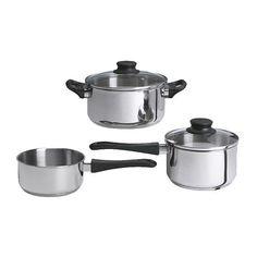 ANNONS 5-piece cookware set  - IKEA