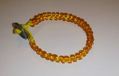 nice orange bracelet