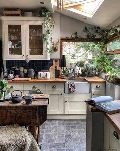 Cheap Home Decor Boho Kitchen Decor Ideas for House or Apartment Interior, Home, Kitchen Decor, Home Remodeling, Boho Kitchen, Boho Kitchen Decor, House Interior, Home Kitchens, Kitchen Design