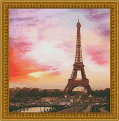 Paris - Cross Stitch Pattern