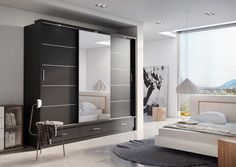 Where space is limited and appearance is essential, sliding door wardrobe is perfect solution for any room. Saving space on the outside of the wardrobe whilst