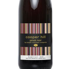 Oregon - Cooper Hill by Cooper Mountain - Pinot Noir