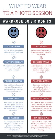 Photographers: send this to your clients! Save these tips for your photo sessions! Now you know how to dress and be better prepared to make the most of your professional photos!