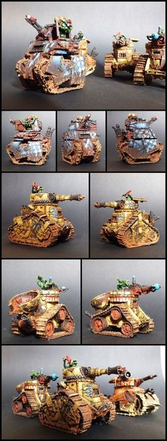 The Internet's largest gallery of painted miniatures, with a large repository of how-to articles on miniature painting Warhammer Eldar, Warhammer Figures, Warhammer Models, Warhammer 40k Miniatures, Tank Drawing, Orks 40k, War Hammer, Machine Design, Game Pieces
