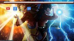 Dragon Ball Z Chrome Themes - ThemeBeta