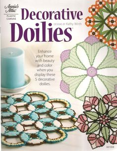 Decorative Doilies Plastic Canvas Book by needlecraftsupershop, $8.99