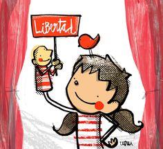 Los humoristas gráficos dan su apoyo a los titiriteros | IQH Instituto Quevedo del humor