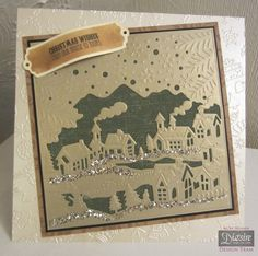Crafters Companion Create a Card Christmas Die - Christmas Village