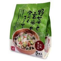 もへじ 野菜と玄米の食べるスープ 和風醤油味