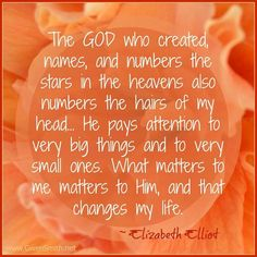 May we continually stand in awe of our God that is so great. Elisabeth Elliot quote from Gwen Smith site Elizabeth Elliot, Jim Elliot, Girlfriends In God, God Of Wonders, Soli Deo Gloria, Believe In God, Christian Inspiration, Words Of Encouragement, Faith Quotes
