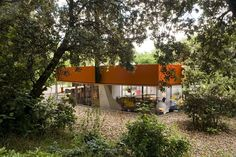 Completed in 2006 in Spain. Images by Roland Halbe, Pablo Zuloaga, Iwan Baan . This is an allotment on a gentle slope covered by evergreen oak, elm, ash, acacia, prunus and plane trees, all seeded spontaneously by birds from the...
