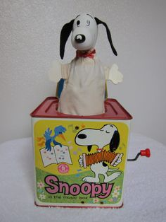 Vintage 1966 Snoopy in the Music Box by Mattel. $18