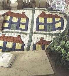 Looks like an old fashioned quilt. Crochet I Love ...