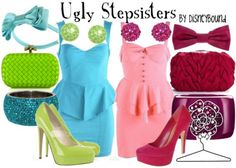 Ugly Stepsisters by DisneyBound