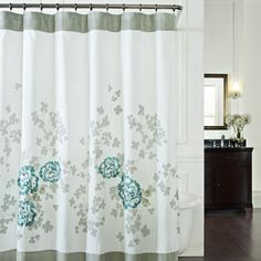 Alaina 72' W x 72' L Fabric Shower Curtain - Bed Bath & Beyond