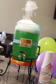 Mad Scientist birthday party - boys party idea food, decor and great party activity ideas!