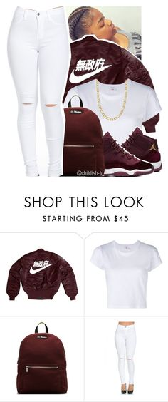"""""""✔️"""" by childish-tc ❤ liked on Polyvore featuring RE/DONE, Dr. Martens and Fremada"""