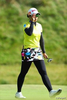 Lpga Golf, Golf Fashion, Womens Fashion, Great Women, Golf Outfit, Asian Woman, Photography Poses, Athlete, Tights