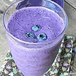 Low Fat Blueberry Protein Smoothie: Single Serving & No Sugar Added
