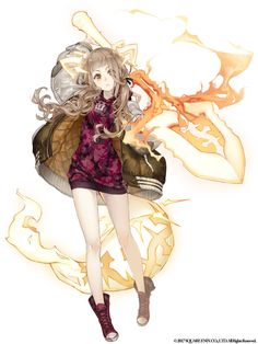 View an image titled 'Red Riding Hood, Alternative Job Art' in our SINoALICE art gallery featuring official character designs, concept art, and promo pictures. Girls Characters, Fantasy Characters, Female Characters, Anime Characters, Female Character Design, Character Concept, Character Art, Concept Art, Lisbeth Zwerger