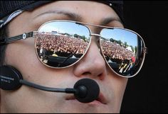 """By Ashley- """"What the audience looks like through my eyes."""""""
