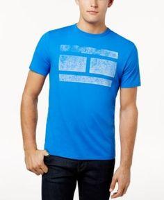 Tommy Hilfiger Men's Virtue Graphic-Print T-Shirt - Blue 3XL