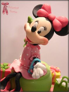 Lovely Minne Mouse Cake Mini Maus torta Balerina Torte Jagodina