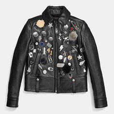 Embellished Racer Jacket