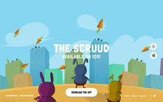 A new free iOS game that will surprise you by beautiful graphics, cured details and fun story. The fast-paced endless-running adventure is full of chasms, carnivorous plants malicious Moskito Monkeys, death-defying circus tricks and power-up veggies. Run, jump, fly and fight for The Scruud!