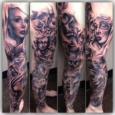tattoo by Carl Grace