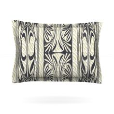 KESS InHouse The Palace by Vikki Salmela Pillow Sham | AllModern #art #nouveau #deco #modern #contemporary #striped #gold and #black #design on #pillow #shams for #home #fashion #decor for #bedroom #bed #apartment or #gift. Comes with coordinating #duvet covers, #rugs, #curtain #sheers and more.