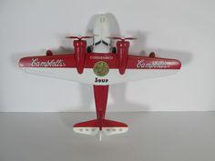 Limited Edition Diecast Gearbox Campbells Soup 1938 Grumman Goose Airplane Bank #Gearbox #1938GrummanGoose