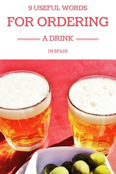 Ready for some nightlife in Barcelona? While in Spain it's great to try and speak some Spanish and these are the essential Spanish words you'll need to know in bars and restaurants to order drinks during your trip! Drink In Spanish, Spanish Food, Dinner Recipes For Kids, Healthy Dinner Recipes, Kids Meals, Tgif, Minion, Grilling Gifts, Barcelona Travel