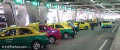 Taxibuchten am Flughafen Bangkok Bangkok, Taxi Driver, Tips
