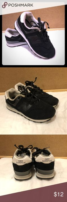 New Balance shoes Black New Balance Shoes, Size 1.5  Please look at my pictures as they are part of my description. If you have any questions please feel free to ask. I am happy to help.   Happy Poshing! New Balance Shoes