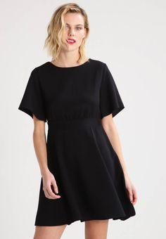 Shirt kleid schwarz zalando
