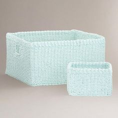 Canal Blue Madison Baskets | World Market
