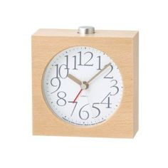 Watches Sale - Lemnos AY alarm clock アラーム時計 ホワイト LA10-07 WH | 最新の時間センター