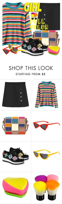"""""""Multicolored Outfits"""" by allanaaa11 ❤ liked on Polyvore featuring Tangle Teezer"""