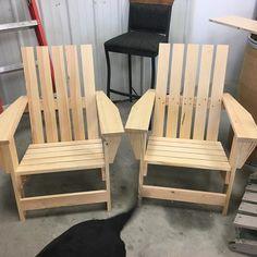 White pine porch chairs#bathroomvanity #classicwood #creamationurn #entertainmentcenter #kitchencabinets #lnk#kitchencabinets via ClassicWoodLincoln.com