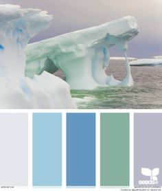 Icy Ocean Color Palette