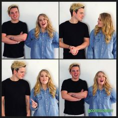 Does anyone else ship Jack and Lydia as much as I do? Because no matter what they're doing and when they look adorable and just the way they look/react to each just makes your heart melt!  Photos are screenshots from this video - not mine: https://www.youtube.com/watch?v=BcUo1GfWSt0