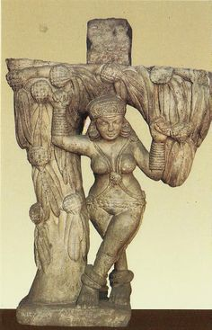 Salabhanjika statue from Sanchi