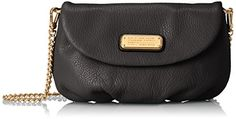 Marc by Marc Jacobs New Q Karlie Cross Body Bag Black One Size * Check this awesome product by going to the link at the image.Note:It is affiliate link to Amazon.
