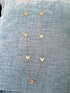 Romolo Chabot Arrow Chevron Necklace