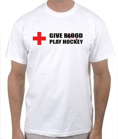 Give blood, Play Hockey